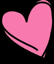 funky-pink-heart